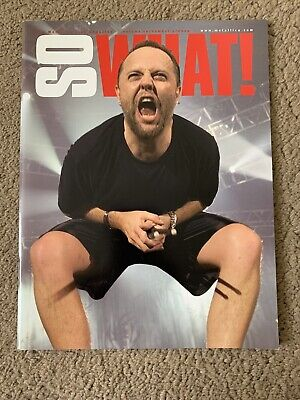 Metallica So What Magazine Volume 10 Issue 4 • 2.60£