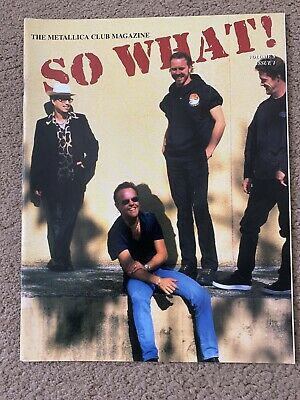 Metallica So What Magazine Volume 5 Issue 1 • 2.60£