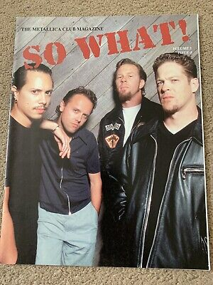 Metallica So What Magazine Volume 5 Issue 4 • 2.60£
