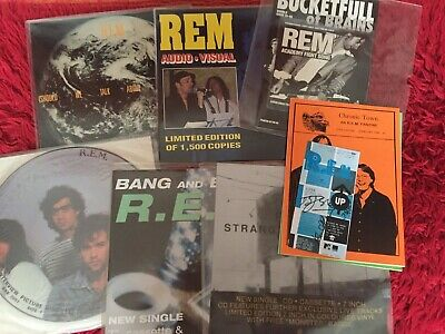 R.e.m. Superb Collection Of Memorabilia - Extremely Rare Items!! • 50£