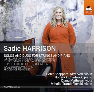 Sadie Harrison : Sadie Harrison: Solos And Duos For Strings And Piano CD (2015) • 3.83£