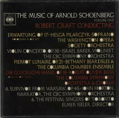 Arnold Schoenberg The Music Of Arnold Schoenberg Volume One UK Vinyl Box Set • 28£