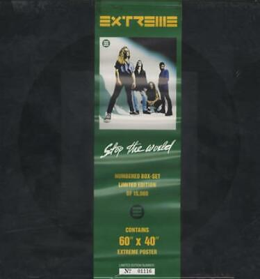 Stop The World + Poster Extreme Box Set UK AMY0096 A & M 1992 • 23.25£