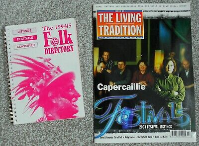 THE LIVING TRADITION Magazine #51 March/April 2003 + Folk Directory 1994 - 95 • 2£