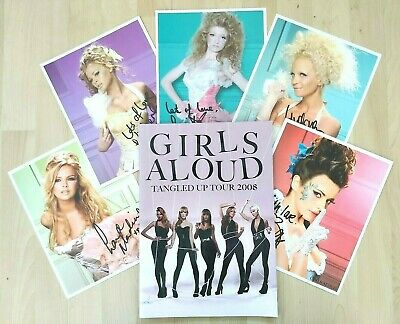GIRLS ALOUD - OFFICIAL TANGLED UP 2008 TOUR PROGRAMME Incls PHOTOS / TICKETS • 25£