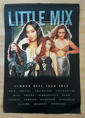 Little Mix - Official Rare Large 'summer Hits' Tour Poster 2018 • 10£