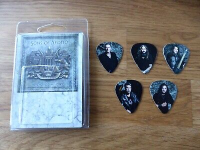 SONS OF APOLLO - Official Exclusive Set Of 5 Guitar Picks / Plectrums 2018 - NEW • 4.99£