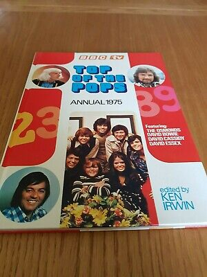 Top Of The Pops Annual 1975 • 3.50£