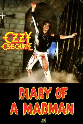 OZZY Osbourne  Diary Of A Madman  Reproduction Store Promo Stand-Up Display • 11.96£