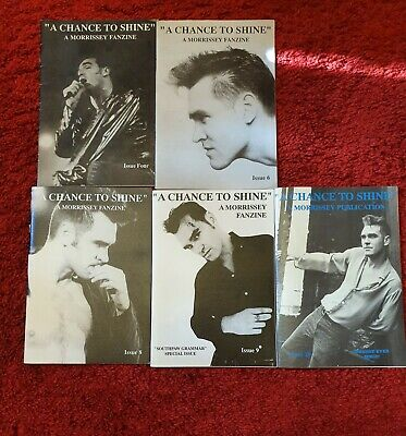 Morrissey Fanzines - A Chance To Shine • 25£