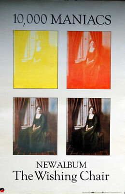 10000 Maniacs The Wishing Chair UK Poster Promo 30  X 20  FLY POSTER • 35.25£