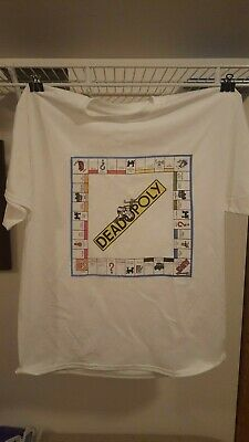 Grateful Dead Deadopoly Vintage T-shirt XL • 18.48£