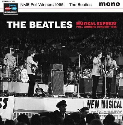 The Beatles Nme Poll Winners 1965 New Sealed 7  Vinyl Ep In Stock • 10£