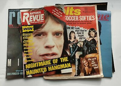 The Rolling Stones / Mick Jagger Magazines - Bundle Of 5 • 7.99£