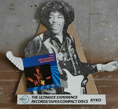 Jimi Hendrix Experience Live At Winterland Easel Back Counter Display 1987 • 29.14£