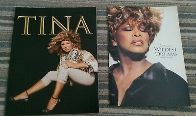 Tina Turner : 2 X Concert Programmes : Europe 2009 / Wildest Dreams 1996 • 14.99£