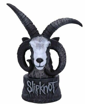 Official Licensed Slipknot Flaming Goat Bust Figurine Goat Heavy Metal Statue  • 42.99£