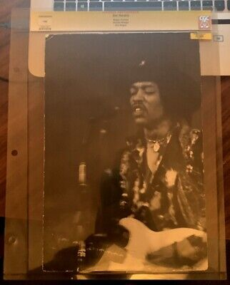 Two Brilliant Unpublished Photos Of Jimi Hendrix On Stage Very Large Size • 799.99£