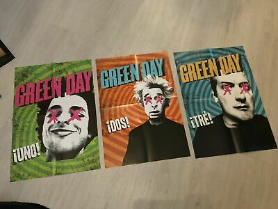 Green Day Uno Dos Tres Posters / Paramore / Billy Talent / Gaslight Anthem Punk • 20£