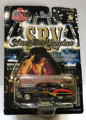 Stevie Ray Vaughan - Srv Die Cast Buick - Racing Champions Hot Rockin' #18 • 14.95£