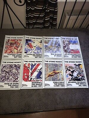 The Stone Roses - Singles & Album Launch Prints - Full Set - 99p - Ian Brown • 3.20£