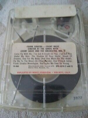 4 Track Cartridge Tapes - Frank Sinatra - Count Basie Sinatra At The Sands With  • 9.95£