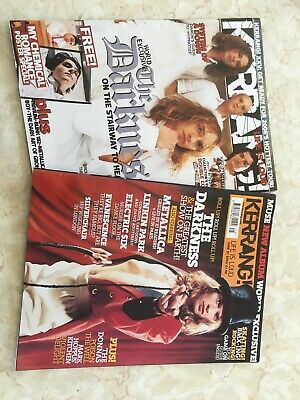 Two Kerrang Back Issues The Darkness 2003 2005 • 1.99£