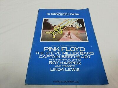 Official Pink Floyd Tour Programme Knebworth 5th July 1975 • 49.95£