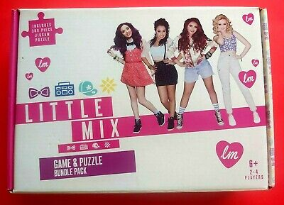 Little Mix - Official Game & Puzzle Bundle Pack - New / Sealed / Boxed • 20£