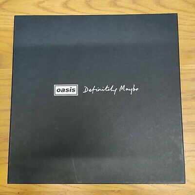 Oasis - Definitely Maybe Super Deluxe Box Set Edition 2014  • 160£