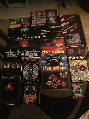 The Edge Coventry Rave Flyer Bundle X 18. 90s Classic Rave.99p Starting Price • 0.99£