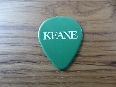 KEANE - Official Promotional Guitar Pick / Plectrum - Hopes & Fears - 2004 - NEW • 1.49£