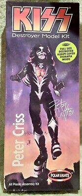 Kiss Destroyer Model Kit - Peter Criss • 9.99£