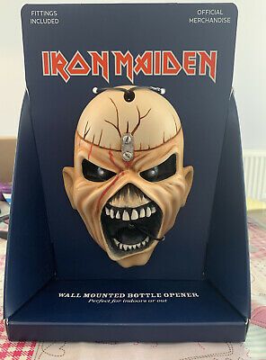 Iron Maiden Eddie Bottle Opener Beer Buddies Painted Official Merchandise • 11.50£