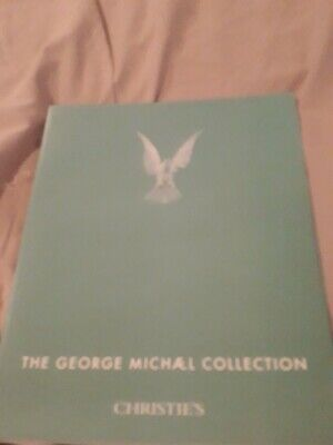 The George Michael Collection Christies Catalogue Signed. • 100£