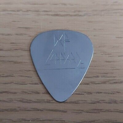 Def Leppard Steel Guitar Pick Plectrum Rare Phil Collen • 5£