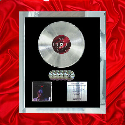 Slipknot We Are Not Your Kind Multi (gold) Cd Platinum Disc  • 297.97£