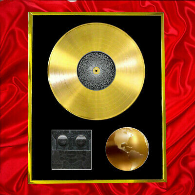 Tool 10000 Days  Cd Plated Lp Display Vinyl Record Album • 160.95£