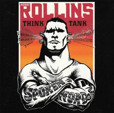 HENRY ROLLINS Think Tank (2X CD, Album) Spoken Word, Very Good Condition, 1998, • 6.99£