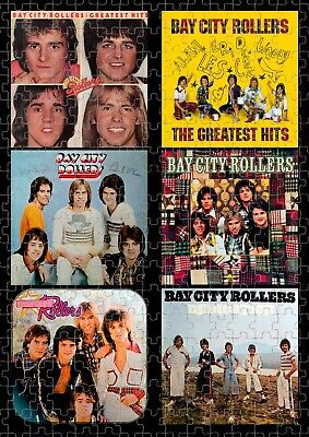 Bay City Rollers Jigsaw Puzzle, Game, Gift, Christmas, Birthday, Rock, Music • 14.02£