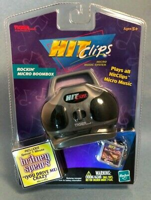 90s Hit Clips Boombox Tiger Hit Clip With Britney Spears - You Drive Me Crazy • 48.78£