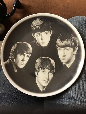 Beatles China Plate By Degas • 5.10£