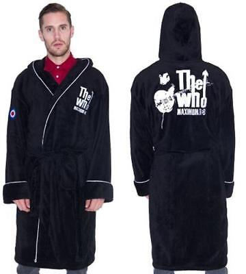 The Who - Maximum R&B Bathrobe / Dressing Gown - New & Official With Tag • 27£