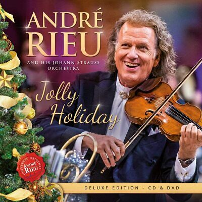 ANDRE RIEU - JOLLY HOLIDAY (1CD 1DVD) Released On 13/11/2020 • 10.98£