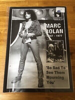 MARC BOLAN - T REX - Rumblings Magazine Issue 9 • 5.90£