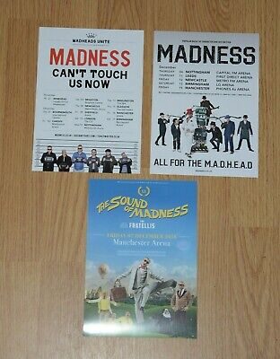Madness ~ 3x  A5 Tour Flyers  • 2.95£