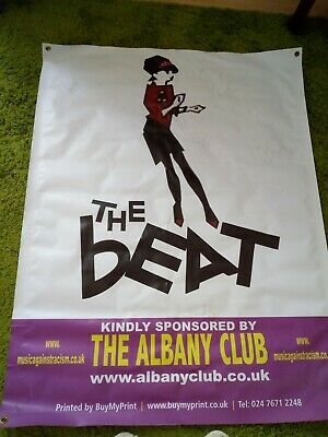 The Beat    Large Concert Signed Poster • 20£