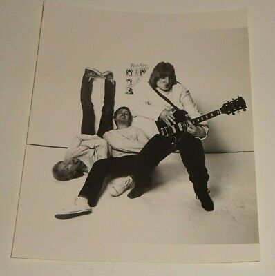 RADIO STARS CHISWICK RECORDS PROMOTIONAL PRESS PHOTO C.1977 For STOP IT 7  EP • 2.43£