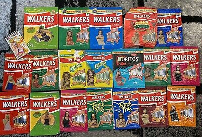 Spice Girls Walkers Crisp Packets - 1990's - Original - Collectable - Promo  • 15£
