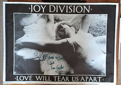 JOY DIVISION: LOVE WILL TEAR US APART. REPRODUCTION POSTER. SIZE: 64cm X 89cm • 4.50£